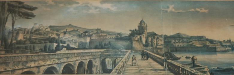 6c Litografia di A.St. Aulaire Panorama dalla Villa del Principe  propprietà degli autori (3) - Copia