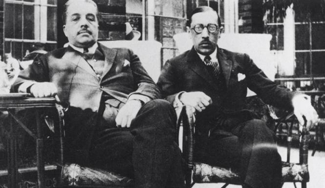 Diaghilev_Stravinsky