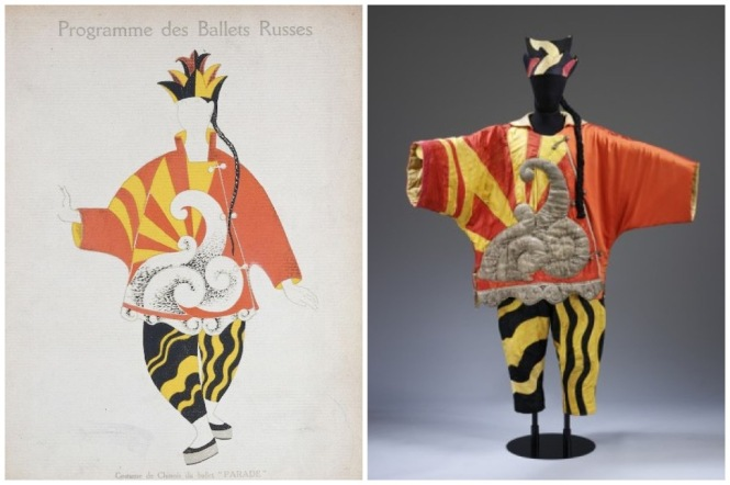 Picasso Ballets Russes