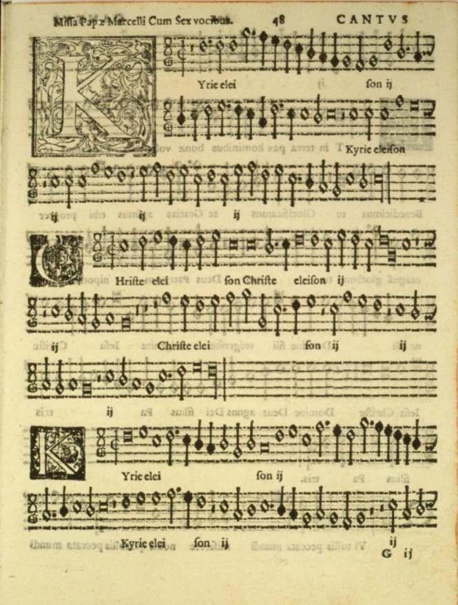 Palestrina Kyrie