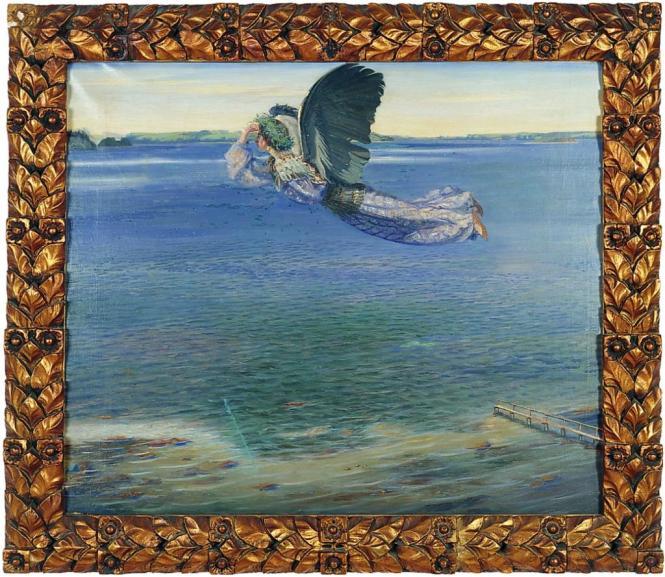 Agnes Slott-Mшller Jomfru Blidelil 1899