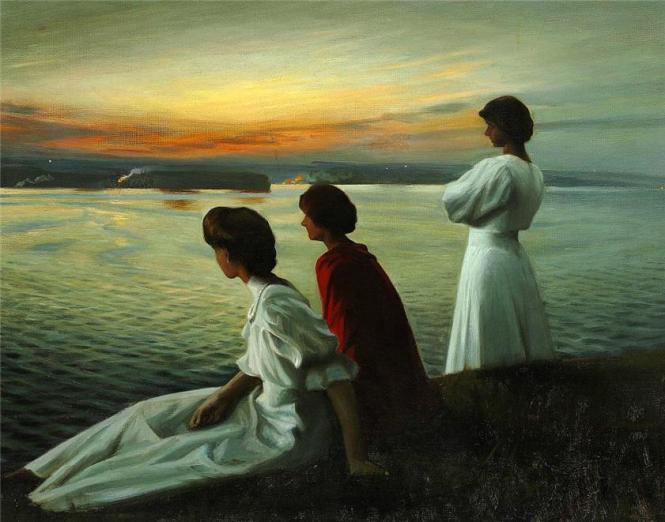 Harald Slott-Møller_Midsummer's_Eve 1904