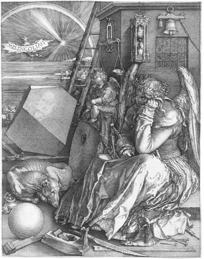 805px-Dürer_Melancholia_I